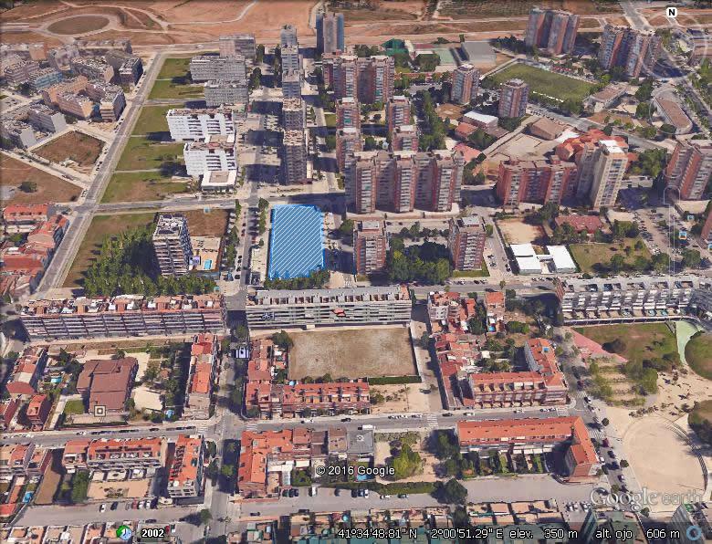 Imagen aérea del suelo Can Roca III-4ª (Terrassa, Barcelona)