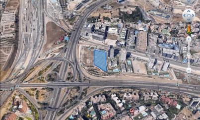 Imagen aérea del suelo Isla Chamartín (Madrid)