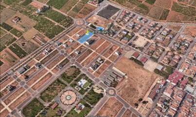 Imagen aérea del suelo Rafelbuñol (Valencia)